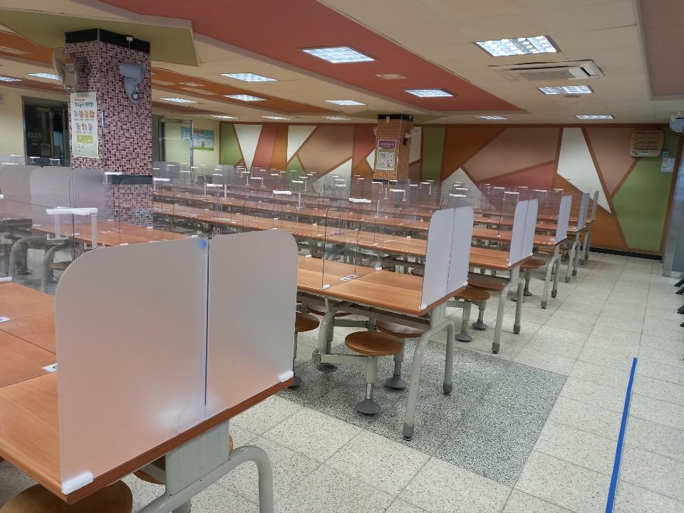 [일반] 급식실 불투명 칸막이 추가 설치의 첨부이미지 2